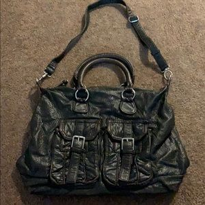 Handbags - Brown faux leather hobo/slouch bag